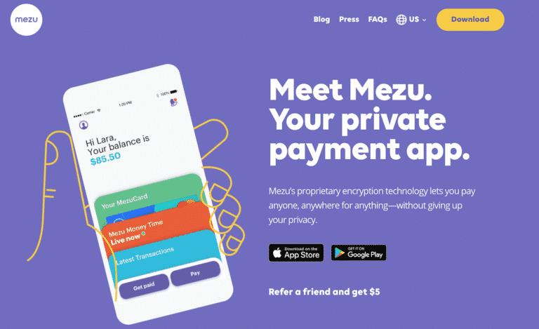 Mezu – Cashless Tipping App: $5 Bonus and $5 Referrals